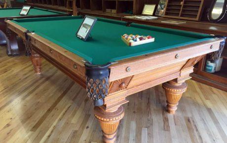 Sunburst Union League: Antique Brunswick Pool Table For Sale